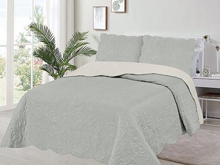 Kit Cobre Leito Veneza Collection - Casal 2,20M x 2,40M + 2 Porta travesseiros 50CM x 70CM