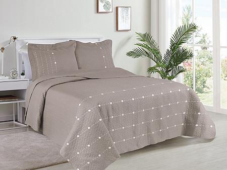 Kit Cobre Leito Glamour Collection - Casal 2,20M X 2,40M + 2 Portas travesseiro 50CM x 70CM
