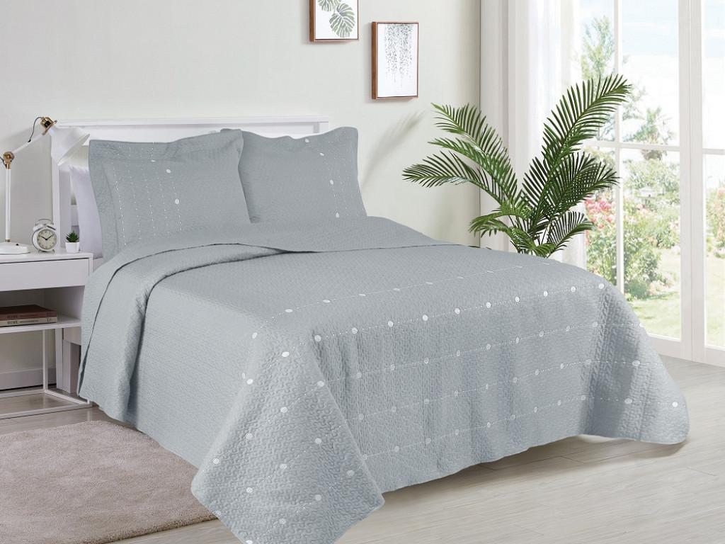 Kit Cobre Leito Glamour Collection - King 2,60M X 2,80M + 2 Portas travesseiro 50CM x 70CM