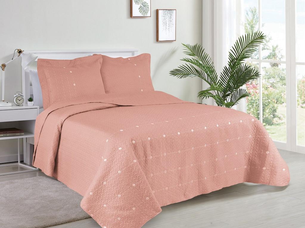 Kit Cobre Leito Glamour Collection - Queen 2,40M X 2,60M + 2 Portas travesseiro 50CM x 70CM