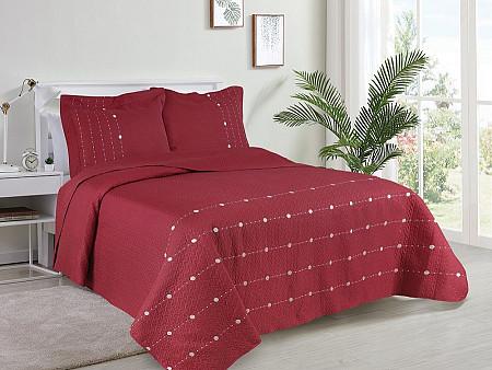 Kit Cobre Leito Glamour Collection - Super King 2,80M X 3,00M + 2 Portas travesseiro 50CM x 70CM
