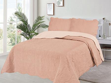 Kit Cobre Leito Veneza Collection - Queen 2,40M x 2,60M + 2 Porta travesseiros 50CM x 70CM