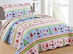 Kit Cobre Leito Kids Collection - Solteiro 1,60M x 2,20M + 1 Porta travesseiro 50CM x 70CM