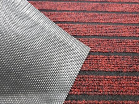 Capacho Carpete Listrado Base PVC - 40CM x 60CM